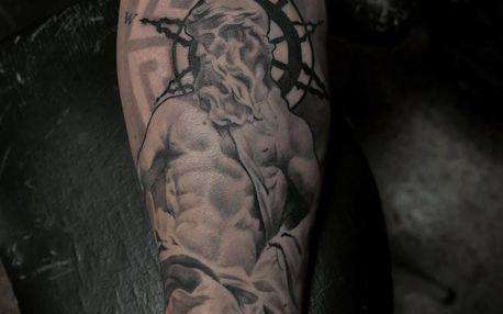 Profesionální tetování o rozměru 10 × 15 cm v Adrenalin Tattoo