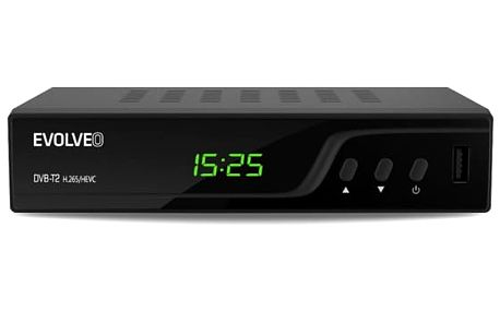 DVB-T2 přijímač Evolveo Omega T2 černý