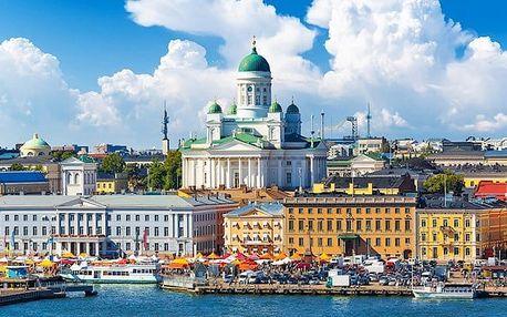 6denní zájezd pro 1 osobu do Pobaltí s výletem do Helsinek a ubytováním