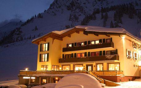 Rakousko, Vorarlbersko: Hotel Arlberg Stube