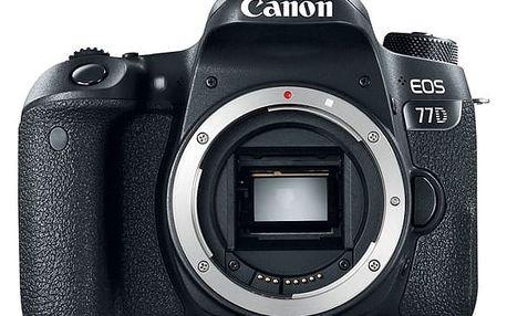 Digitální fotoaparát Canon EOS 77D černý (1892C003AA)