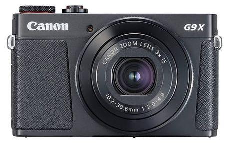 Digitální fotoaparát Canon PowerShot G9 X Mark II Black (1717C002) černý + DOPRAVA ZDARMA