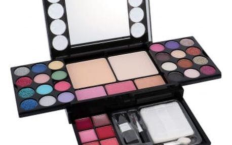 Makeup Trading Diamonds Set dárková sada pro ženy - 13,44g Eyeshadows + 4,8g Blush + 14,4g Face Powder + 3,2g Lipgloss Sada dekorativní kosmetiky