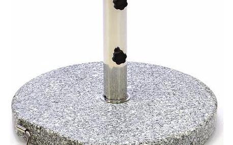 Garthen 1506 Stojan na slunečník (kruhový) - žula / nerezová ocel, 25kg