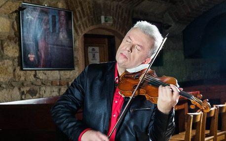 Vstupenka na koncert Jaroslava Svěceného