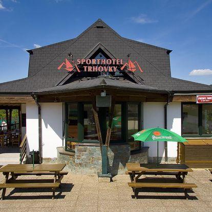 Sporthotel Trhovky: ideální místo pro aktivní dovolenou s rodinou i přáteli