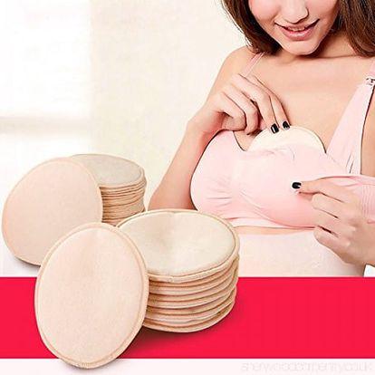 Pratelné prsní vložky pro kojení 4 ks
