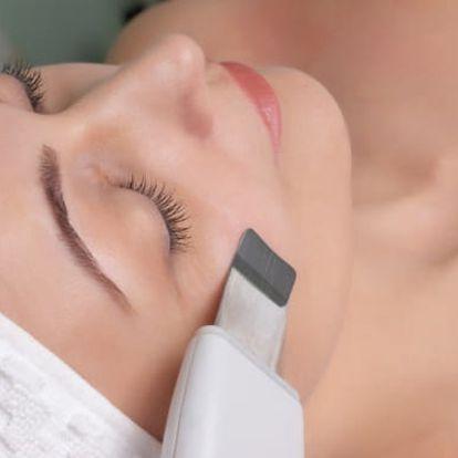 Ultrazvuková špachtle nebo kosmetické ošetření