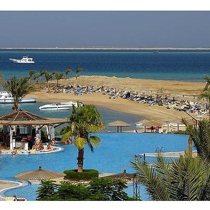Egypt - Hurghada na 8 až 9 dní, all inclusive s dopravou letecky z Prahy nebo Brna