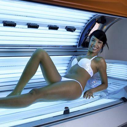Chcete mit krásně opálené tělo? 100 minut v soláriu ve Studiu Step.