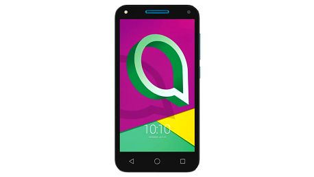 Mobilní telefon ALCATEL U5 3G 4047D Dual SIM černý/modrý + dárek (4047D-2CALE11)