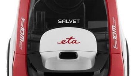 Vysavač podlahový ETA Salvet 0513 90000 bílý/červený