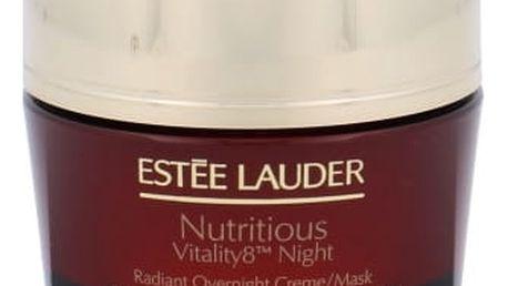 Estée Lauder Nutritious Vitality8 Night Radiant Overnight Creme/Mask 50 ml noční pleťový krém tester pro ženy