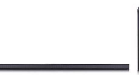 Soundbar LG SJ8 stříbrný/titanium