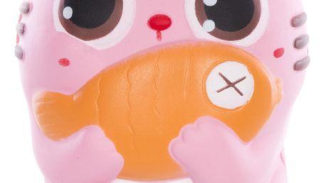 Antistresová mačkací hračka Kočka se sladkou vůní