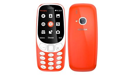 Nokia 3310 (2017) Dual SIM (A00028109) červený