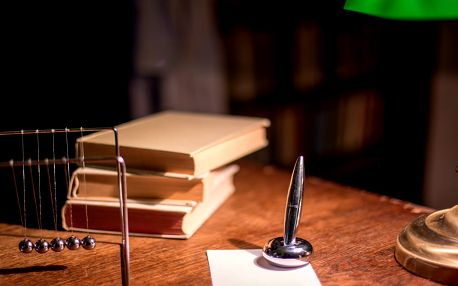Profesorova pracovna: příběh, který nezapomenete