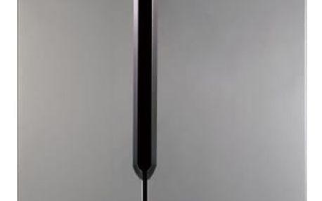 Americká lednice ETA 138890010 stříbrná + DOPRAVA ZDARMA