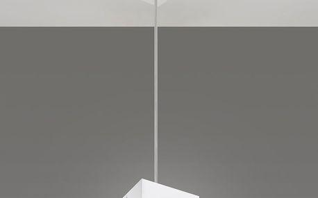 Bílé závěsné svítidlo Nice Lamps Geo