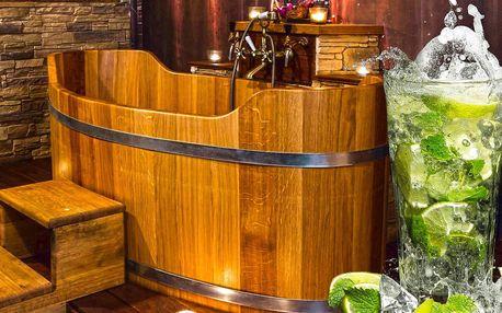 Relax a drink pro dva v lázních na Stodolní