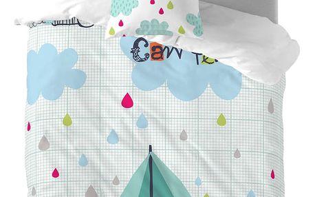 Dětské bavlněné povlečení Baleno Happy Campers, 140x200cm