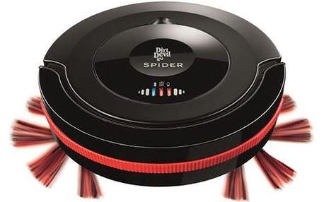 Vysavač robotický Dirt Devil Spider Robot M607 černý