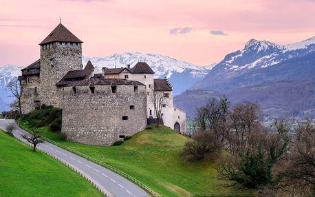 Víkend v Lichtenštejnsku, Rakousku a Německu