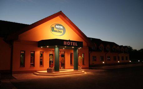 Hotel U Milína nedaleko Příbrami