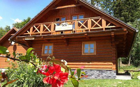 Rekreační chata pro dovolenou v každém ročním období