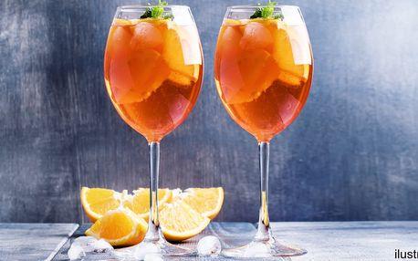 Léto je tu: 2 či 4 drinky Aperol Spritz