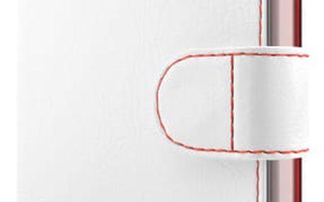 Pouzdro na mobil flipové FIXED FIT pro Samsung Galaxy J3 (2017) bílé (FIXFIT-166-WH)