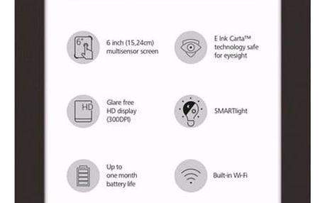 Čtečka e-knih Pocket Book 631+ Touch HD 2 hnědá (PB631-2-X-WW )