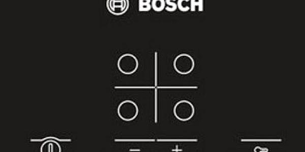 Sklokeramická varná deska Bosch PKE645D17E nerez3