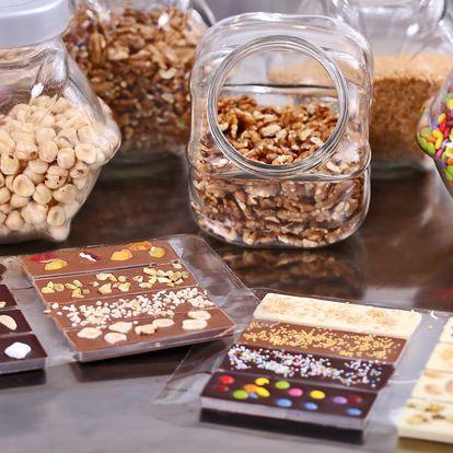 Vstupenka do Choco-Story s degustací čokolády