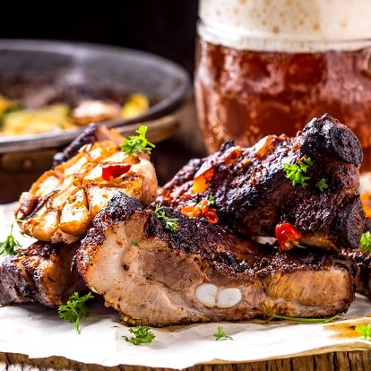 Staročeské degustační menu pro 2 osoby v krčmě v Dejvicích