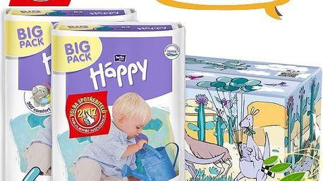 BELLA HAPPY Junior 6 Big TOY BOX (16+ kg) 108 ks - jednorázové pleny