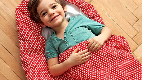 Dětský spací pytel Bartex Design Srdíčka, 70x180cm