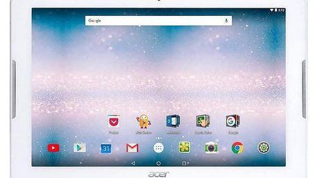 Dotykový tablet Acer Iconia One 10 (B3-A40-K3HZ) bílý + dárek (NT.LDNEE.004)