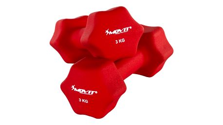 MOVIT 29321 Set 2 činek s neoprenovým potahem 3 kg