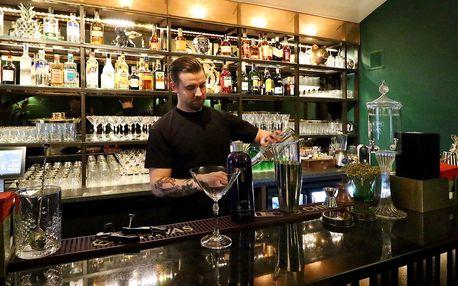 Otevřený voucher na úžasné koktejly v centru