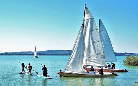 Balaton: koupání u křišťálově čistého jezera