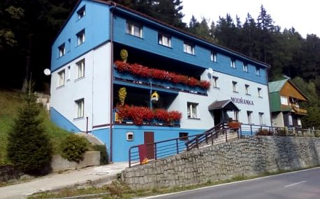 Pobyt pro dvě osoby s polopenzí v penzionu Modřanka v Krkonoších na 3, 4 nebo 7 dní.