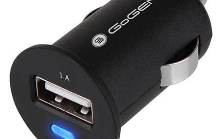 Adaptér do auta GoGEN CH 11, 1x USB černý (GOGCH11)