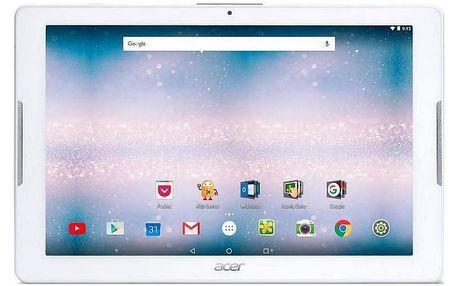 Dotykový tablet Acer Iconia One 10 (B3-A40-K3HZ) (NT.LDNEE.004) bílý Software F-Secure SAFE, 3 zařízení / 6 měsíců v hodnotě 979 Kč + DOPRAVA ZDARMA