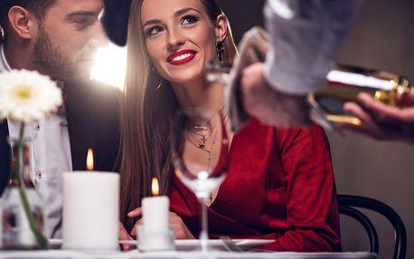 Romantické menu: panenka, kuřecí prso i parfait