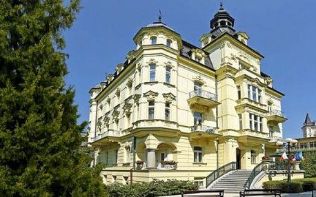 3–7denní lázeňský pobyt s polopenzí a procedurami v hotelu Mignon**** v Karlových Varech