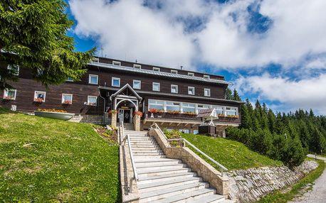 Léto v apartmánech Granit Smrekovica ve výšce 1428 m n. m.