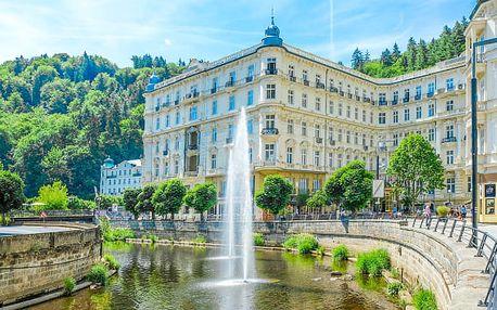 Karlovy Vary se snídaní či polopenzí