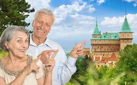 6denní seniorský pobyt pro 1 s polopenzí a wellness v hotelu Regia na Slovensku