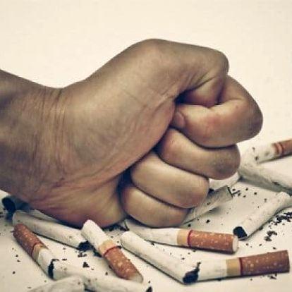 45minutová odvykací kúra proti kouření pomocí biorezonance ve studiu Step v Praze
